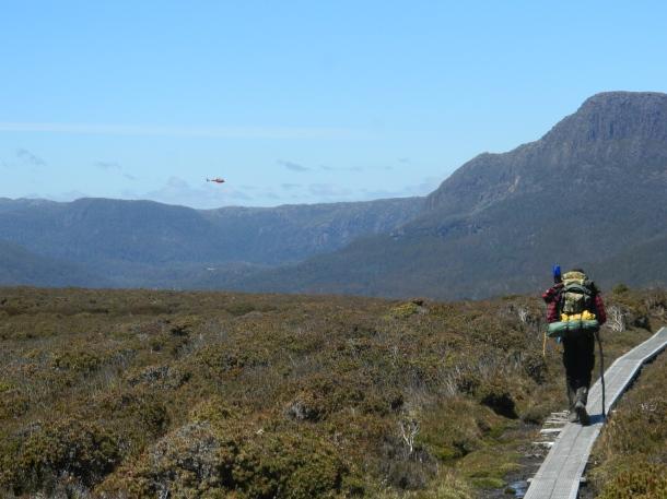 Walking the Overland Track in Tassie