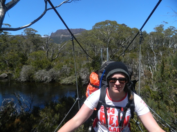 Finishing the Overland Track in Tassie