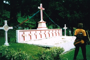 Cenotaph in Papua New Guinea