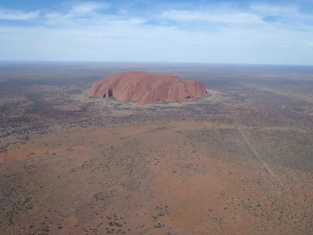An Australian icon: Uluru in Northern Territory