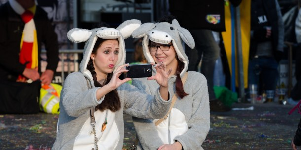 bunnies taking a selfie
