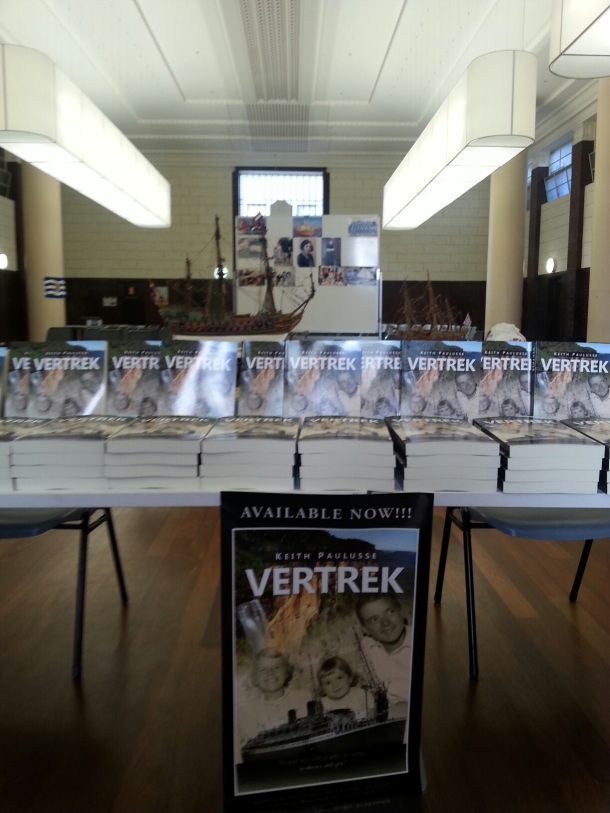 book launch VERTREK