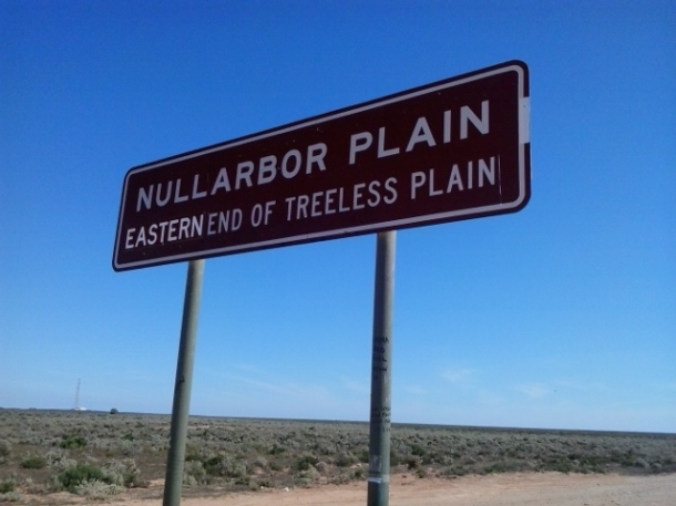 The Nullarbor, which holds Australia's longest straight road
